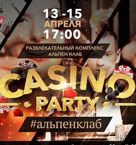 Alpen Club: casino party