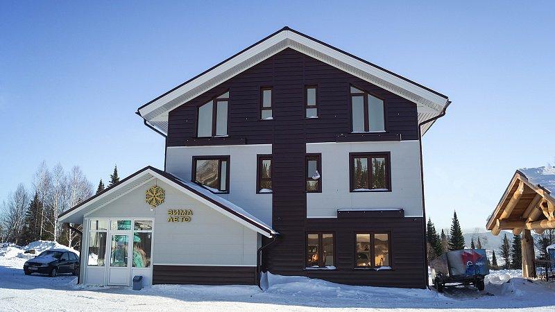 Зима-лето гостиница | Центр бронирования отелей курорта Шерегеш