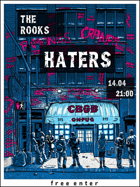 The Rooks: HATERS